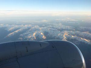 Ein Flug über die Rockie Mountains ist einfach schön...
