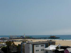 Blick auf das Santa Monica Pier.