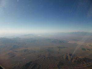 Wüste, soweit das Auge reicht...