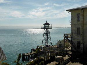 Anlegestelle auf Alcatraz.