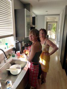 Marika und Emma backen Cupcakes > es gab ja sonst nix...