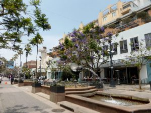 Promenade in Santa Monica > eigentlich die Shoppingmeile.