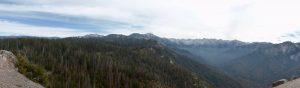 Blick vom Moro Rock zur Sierra Range.