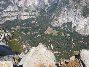 1.000 m runter!! Es gibt übrigens angeblich keine Suizide hier.