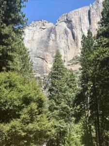 Upper Yosemite Fall: wenn von oben nix kommt...