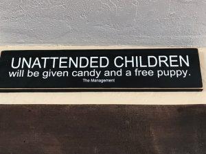 So kann man auch die Eltern dazu bringen, auf ihre Kids aufzupassen😁