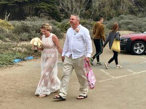 Ich habe beiden alles Gute gewünscht. Zur ersten Hochzeit!!😁