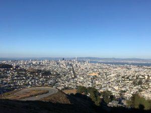 Der volle Blick auf die City, ohne Zoom.
